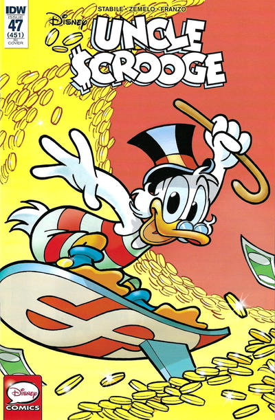 Cover for Uncle Scrooge (IDW, 2015 series) #47 / 451 [Retailer Incentive - Andrea Freccero]