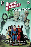 Cover Thumbnail for Black Hammer / Justice League: Hammer of Justice! (2019 series) #1 [Jeff Lemire Cover]