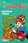 Cover for Donald Pocket (Hjemmet / Egmont, 1968 series) #1 - Onkel Skrues Millioner [6. opplag bc 239 20]