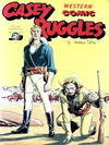 Cover for Casey Ruggles Western Comic (Donald F. Peters, 1951 series) #7