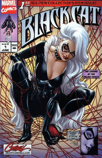 Cover Thumbnail for Black Cat (Marvel, 2019 series) #1 [J. Scott Campbell Exclusive Cover A]