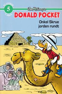Cover Thumbnail for Donald Pocket (Hjemmet / Egmont, 1968 series) #5 - Donald Duck i toppform [5. opplag bc 239 20]