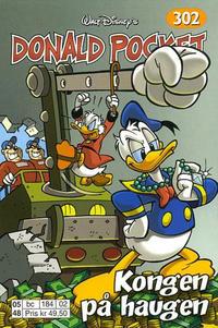 Cover Thumbnail for Donald Pocket (Hjemmet / Egmont, 1968 series) #302 - Kongen på haugen [1. opplag]