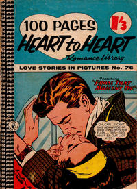 Cover Thumbnail for Heart to Heart Romance Library (K. G. Murray, 1958 series) #76
