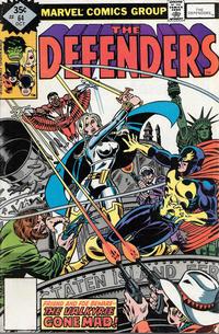 Cover Thumbnail for The Defenders (Marvel, 1972 series) #64 [Whitman]