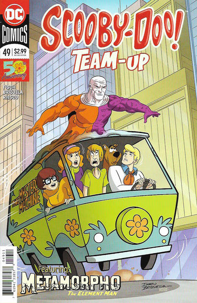Cover for Scooby-Doo Team-Up (DC, 2014 series) #49