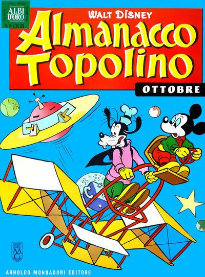 Cover for Almanacco Topolino (Arnoldo Mondadori Editore, 1957 series) #82