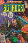 Cover for Sgt. Rock (DC, 1977 series) #353 [Newsstand]
