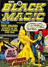 Cover for Black Magic Comics (Arnold Book Company, 1952 series) #2 [Blue Box variant]
