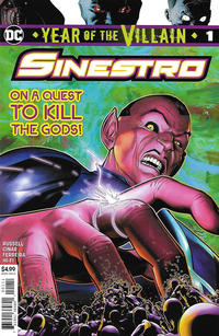 Cover Thumbnail for Sinestro: Year of the Villain (DC, 2019 series) #1