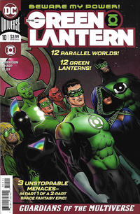 Cover Thumbnail for The Green Lantern (DC, 2019 series) #10 [Liam Sharp Cover]
