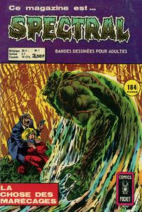 Cover Thumbnail for Spectral (Arédit-Artima, 1974 series) #1