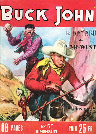 Cover for Buck John (Impéria, 1953 series) #55