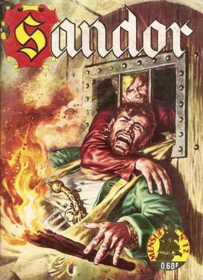 Cover for Sandor (Impéria, 1965 series) #12