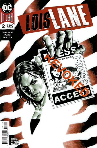 Cover for Lois Lane (DC, 2019 series) #2 [Nicola Scott Cover]