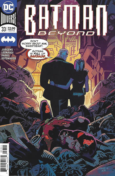 Cover for Batman Beyond (DC, 2016 series) #33