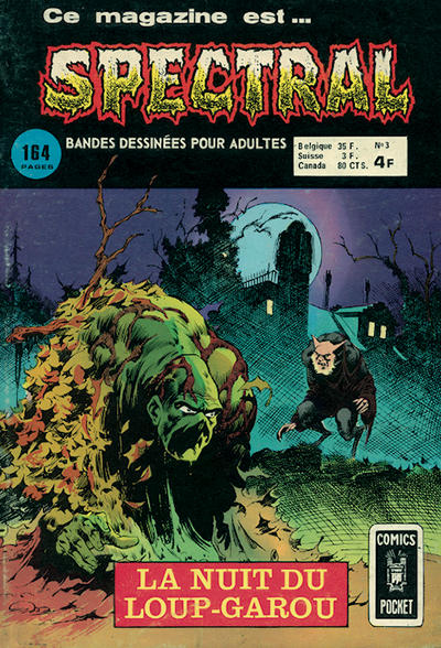 Cover for Spectral (Arédit-Artima, 1974 series) #3