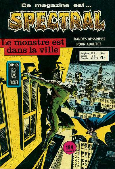 Cover for Spectral (Arédit-Artima, 1974 series) #6