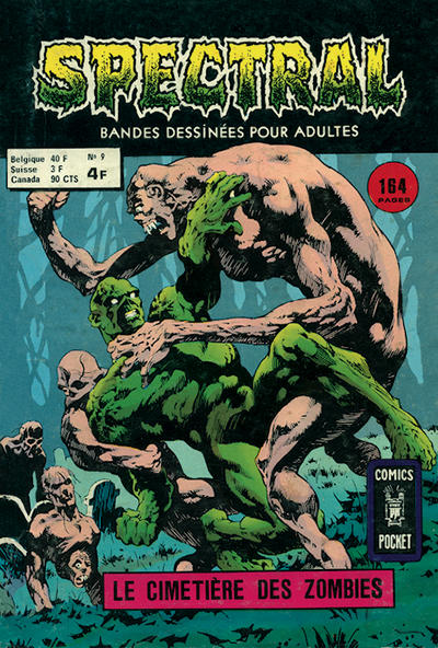 Cover for Spectral (Arédit-Artima, 1974 series) #9