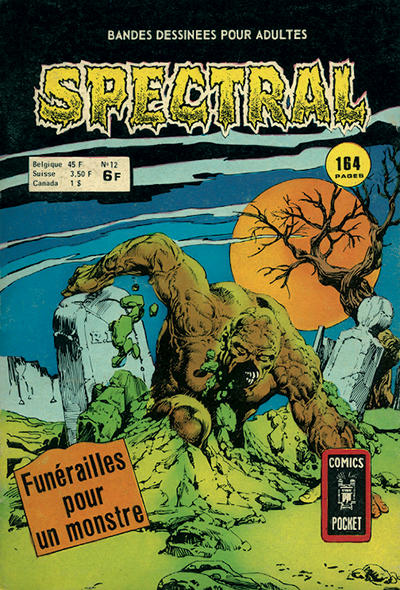 Cover for Spectral (Arédit-Artima, 1974 series) #12