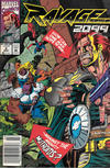 Cover Thumbnail for Ravage 2099 (1992 series) #4 [Newsstand]