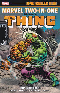 Cover Thumbnail for Marvel Two-in-One Epic Collection (Marvel, 2018 series) #1 - Cry Monster