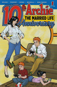 Cover Thumbnail for Archie: The Married Life - 10th Anniversary (Archie, 2019 series) #1 [Cover E - Aaron Lopresti]