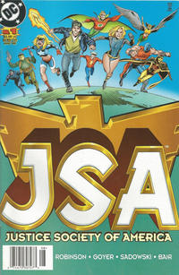 Cover Thumbnail for JSA (DC, 1999 series) #1 [Newsstand]
