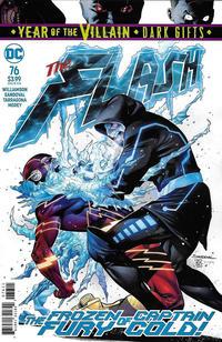 Cover Thumbnail for The Flash (DC, 2016 series) #76 [Rafa Sandoval & Jordi Tarragona Cover]