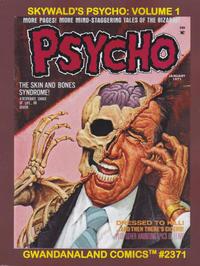 Cover Thumbnail for Gwandanaland Comics (Gwandanaland Comics, 2016 series) #2371 - Skywald's Psycho Volume 1