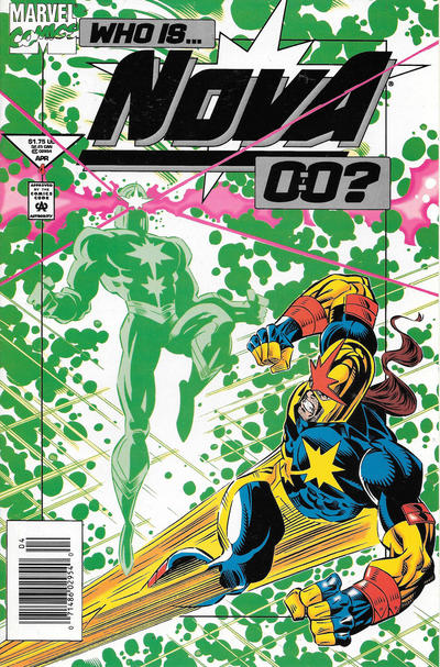 Cover for Nova (Marvel, 1994 series) #4 [Newsstand]