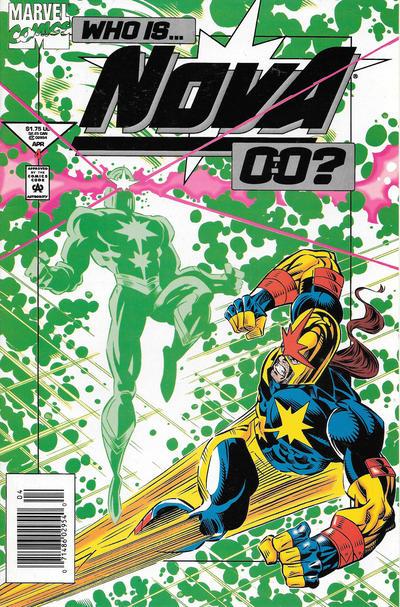 Cover for Nova (Marvel, 1994 series) #4 [Direct Edition]