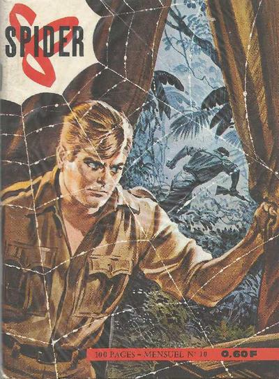 Cover for Spider agent spécial (Impéria, 1965 series) #10