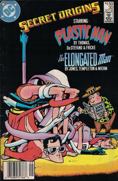 Cover for Secret Origins (DC, 1986 series) #30 [Newsstand]