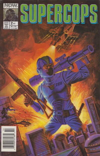 Cover for Supercops (Now, 1990 series) #2 [Newsstand]