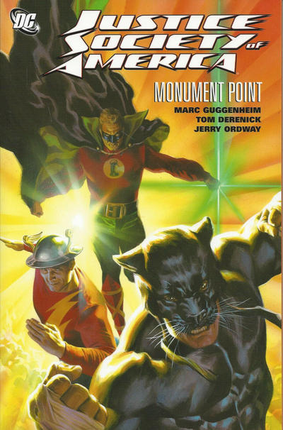 Cover for Justice Society of America: Monument Point (DC, 2012 series)