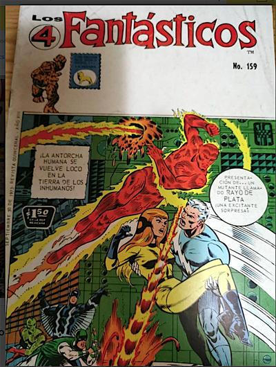 Cover for Los 4 Fantásticos (Editora de Periódicos La Prensa S.C.L., 1962 series) #159