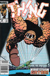 Cover for The Thing (Marvel, 1983 series) #29 [Newsstand]