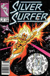 Cover for Silver Surfer (Marvel, 1987 series) #12 [Newsstand]