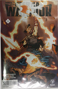 Cover Thumbnail for Wrath of the Eternal Warrior (Valiant Entertainment, 2015 series) #1 [Cover V - The Nerd Store - Rebekah Isaacs]
