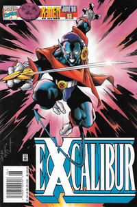 Cover Thumbnail for Excalibur (Marvel, 1988 series) #98 [Newsstand]