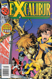 Cover Thumbnail for Excalibur (Marvel, 1988 series) #87 [Newsstand]