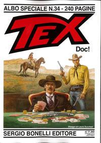Cover Thumbnail for Tex - Albo Speciale (Sergio Bonelli Editore, 1988 series) #34 - Doc!