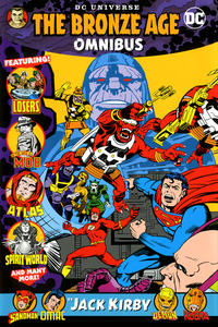 Cover Thumbnail for DC Universe: The Bronze Age Omnibus by Jack Kirby (DC, 2019 series)