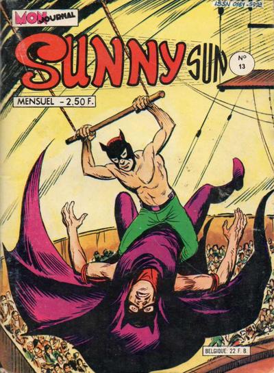 Cover for Sunny Sun (Mon Journal, 1977 series) #13