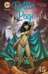 Cover for Bettie Page Unbound (Dynamite Entertainment, 2019 series) #3 [Cover B Scott Chantler]