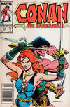 Cover for Conan the Barbarian (Marvel, 1970 series) #197 [Newsstand]