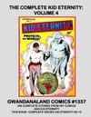 Cover for Gwandanaland Comics (Gwandanaland Comics, 2016 series) #1337 - The Complete Kid Eternity: Volume 4