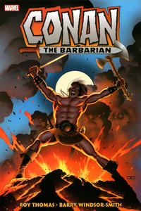Cover Thumbnail for Conan the Barbarian: The Original Marvel Years Omnibus (Marvel, 2019 series) #1 [John Cassaday Cover]