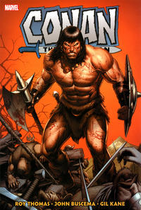 Cover Thumbnail for Conan the Barbarian: The Original Marvel Years Omnibus (Marvel, 2019 series) #2 [Dale Keown Cover]